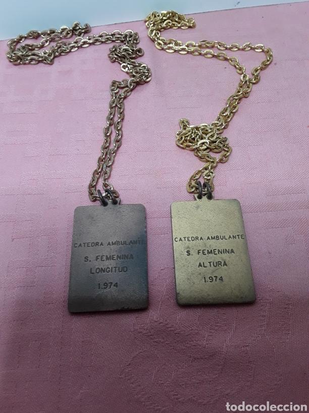 Coleccionismo deportivo: Medallas deportivas de la Sección Femenina - Foto 2 - 233501815