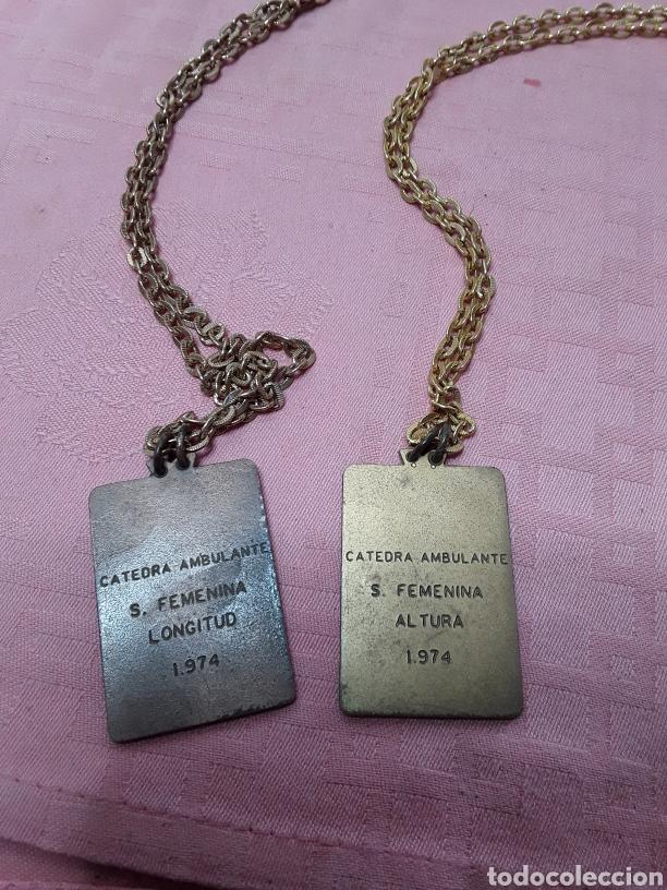 Coleccionismo deportivo: Medallas deportivas de la Sección Femenina - Foto 4 - 233501815