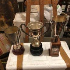 Coleccionismo deportivo: LOTE DE 3 TROFEOS ANTIGUOS. Lote 234769650