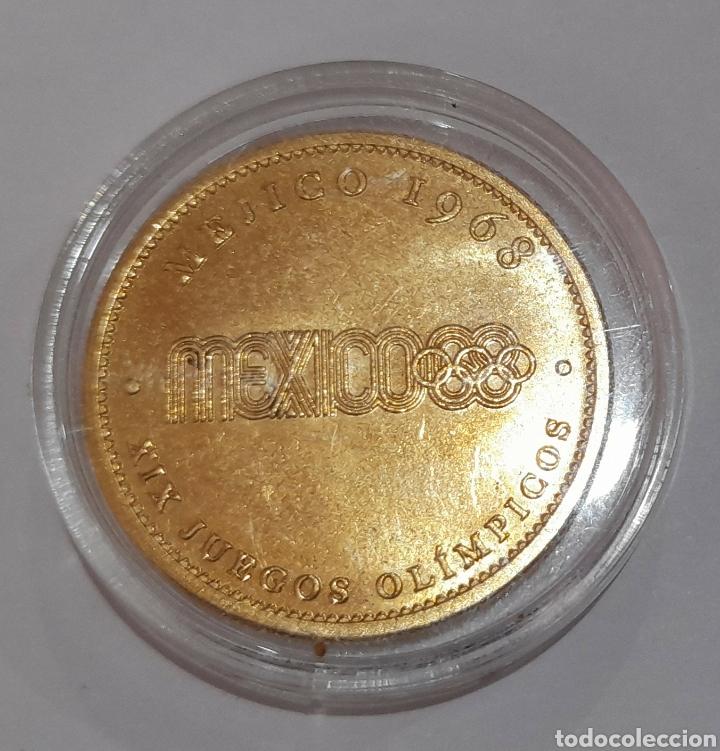 Coleccionismo deportivo: 6 Monedas Olimpiadas Oro Laminado, diferentes. - Foto 3 - 240145985