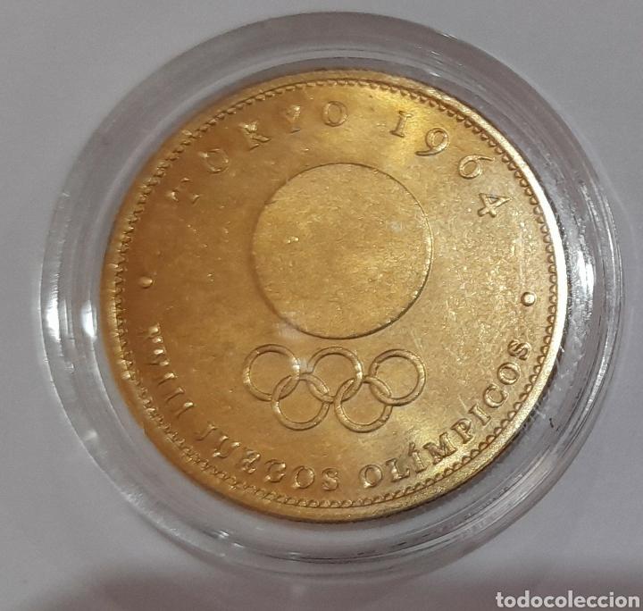 Coleccionismo deportivo: 6 Monedas Olimpiadas Oro Laminado, diferentes. - Foto 6 - 240145985