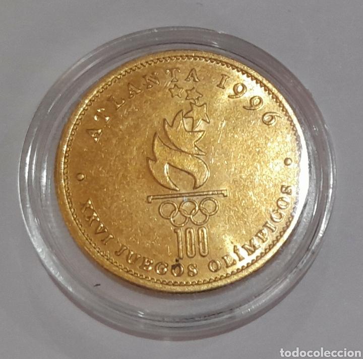 Coleccionismo deportivo: 6 Monedas Olimpiadas Oro Laminado, diferentes. - Foto 7 - 240145985