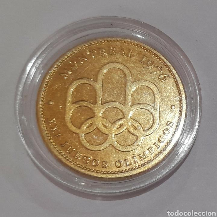 Coleccionismo deportivo: 6 Monedas Olimpiadas Oro Laminado, diferentes. - Foto 9 - 240145985