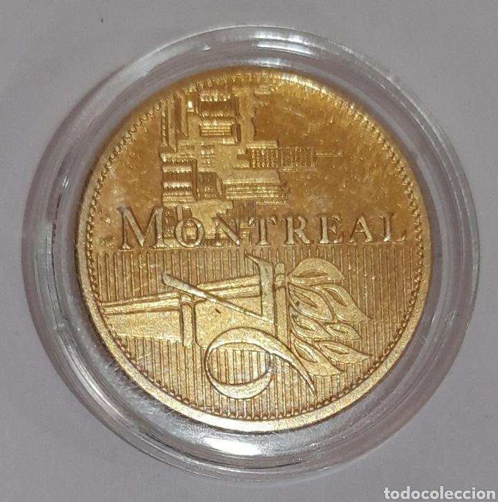 Coleccionismo deportivo: 6 Monedas Olimpiadas Oro Laminado, diferentes. - Foto 10 - 240145985