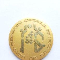 Coleccionismo deportivo: MEDALLA UNIÓN SOVIÉTICA. URSS. MEDALLÓN VOLEIBOL. 1975. Lote 240194940