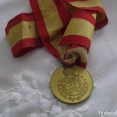 Coleccionismo deportivo: MEDALA DORADA DE LA FEDERACION ESPAÑOLA DE TIRO OLÍMPICO.. Lote 241388175