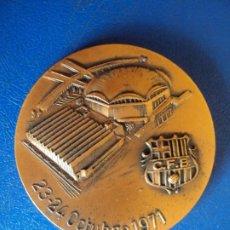 Coleccionismo deportivo: (MEDP-210206)MEDALLA BALONCESTO PALAU BLAUGRANA INAGURACION 1971,FIBA,FINAL COPA KORAC 1981 JUVENTUT. Lote 241927765