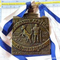 Coleccionismo deportivo: GRAN MEDALLA MEDALLÓN DE ATLETISMO CROSS. MARATON ALPINO 2006 CARAVACA DE LA CRUZ. 140GR. Lote 244738820