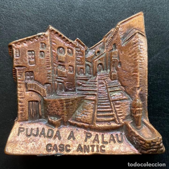 PLACA PUJADA DE BAGÀ A COLL DE PAL 1997 (Coleccionismo Deportivo - Medallas, Monedas y Trofeos - Otros deportes)