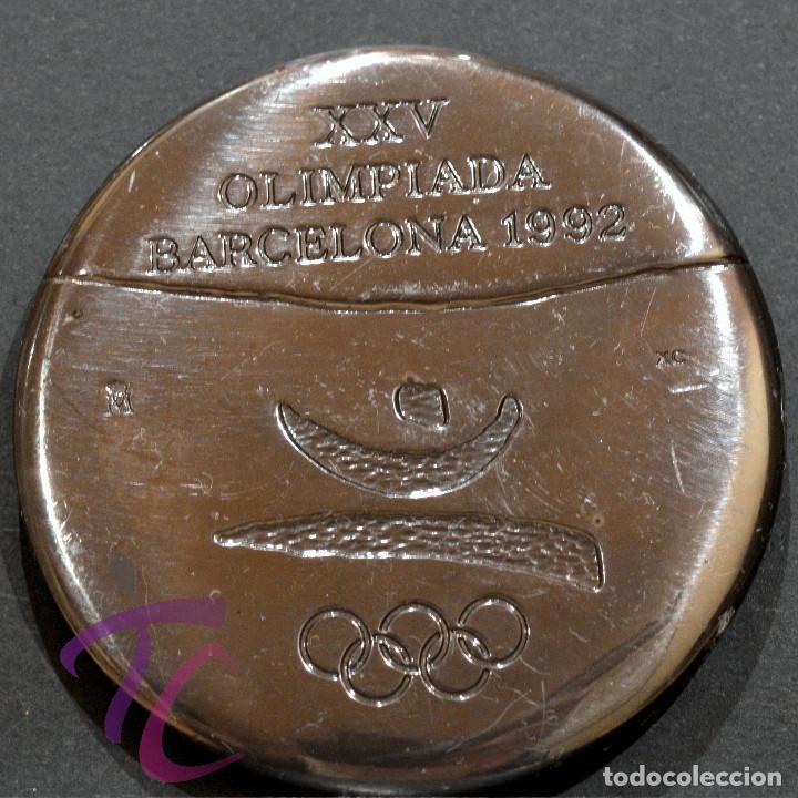 Coleccionismo deportivo: MEDALLA FNMT OLIMPIADAS 1992 BARCELONA 92 VOLUNTARIOS - Foto 2 - 252138540