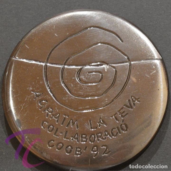 Coleccionismo deportivo: MEDALLA FNMT OLIMPIADAS 1992 BARCELONA 92 VOLUNTARIOS - Foto 3 - 252138540