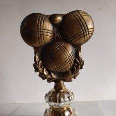 Coleccionismo deportivo: TROFEO IDEAL TORNEO DE PETANCA.. Lote 252451965