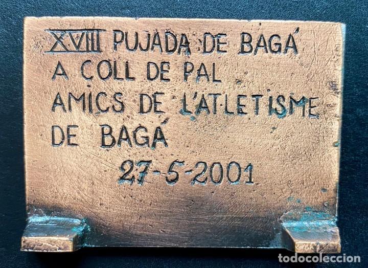 Coleccionismo deportivo: placa PUJADA A COLL DE PAL 2001 - Foto 2 - 260642880