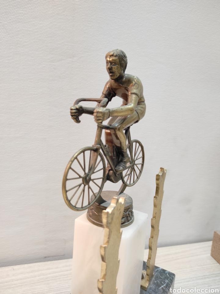 Coleccionismo deportivo: Trofeo ciclismo antiguo - Foto 3 - 261185520