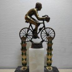 Coleccionismo deportivo: TROFEO CICLISMO ANTIGUO. Lote 261185520