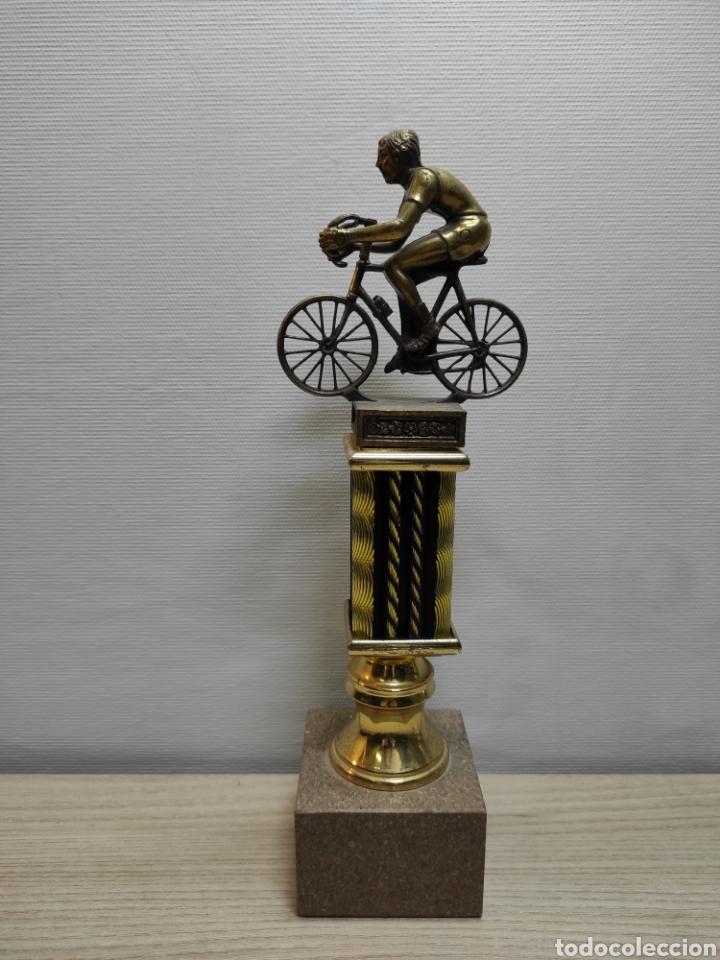 TROFEO CICLISMO ANTIGUO (Coleccionismo Deportivo - Medallas, Monedas y Trofeos - Otros deportes)