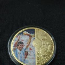 Coleccionismo deportivo: MONEDA ONZA RIP MARADONA 1960-2020. Lote 261867185