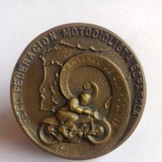 Coleccionismo deportivo: REAL FEDERACIÓN MOTOCICLISTA ESPAÑOLA. AÑO 1954. RALLYE SANTIAGO DE COMPOSTELA.. Lote 262272090