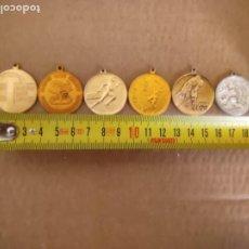 Coleccionismo deportivo: LOTE DE 5 MEDALLAS DEPORTIVAS SOVIETICAS. Lote 263163355
