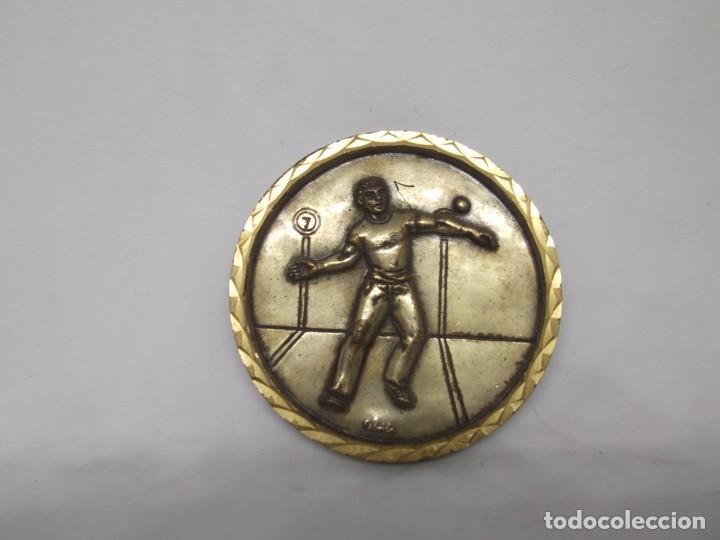 Coleccionismo deportivo: Medalla de Pilota Fronton sin asa.Cebrian.Nueva - Foto 2 - 263742000