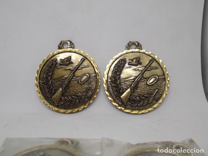 4 MEDALLAS ANTIGUAS DE TIRO AL PLATO.CEBRIAN.NUEVAS (Coleccionismo Deportivo - Medallas, Monedas y Trofeos - Otros deportes)
