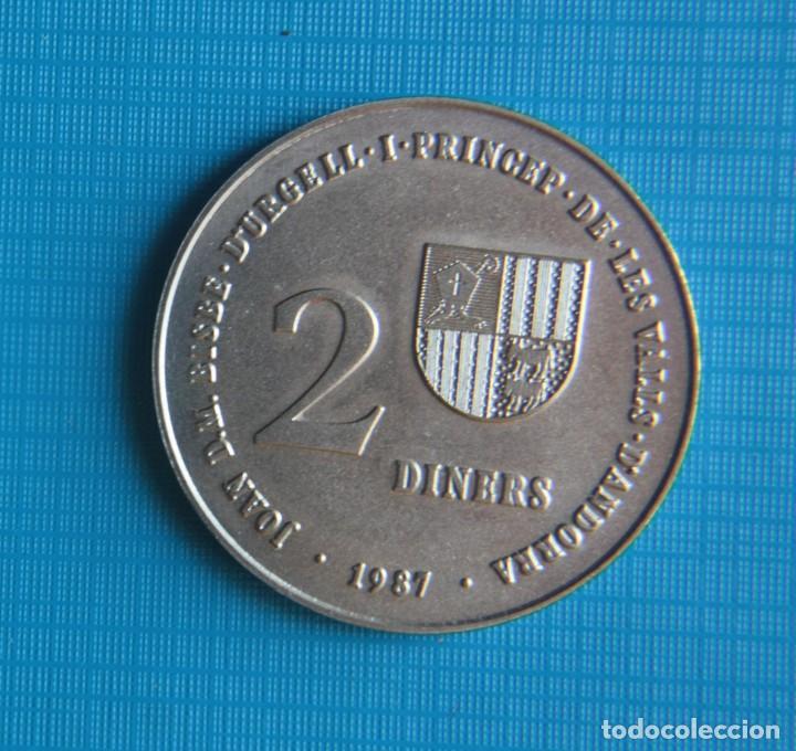 2 DINERS (XXIV SUMMER/XVI WINTER OLYMPIC GAMES 1988 BARCELONA/1992 ALBERTVILLE) (Coleccionismo Deportivo - Medallas, Monedas y Trofeos - Otros deportes)