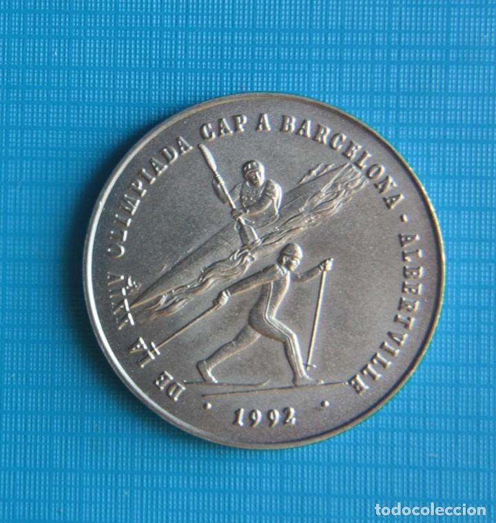 Coleccionismo deportivo: 2 Diners (XXIV Summer/XVI Winter Olympic Games 1988 Barcelona/1992 Albertville) - Foto 2 - 263791690