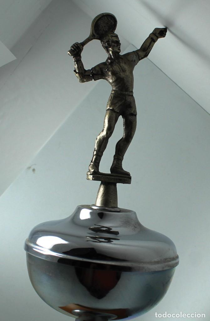 Coleccionismo deportivo: Trofeo tenis sin grabar - Foto 2 - 265835389