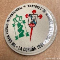 """Coleccionismo deportivo: RECUERDO VIII GRAN PREMIO INTERNACIONAL""""CANTONES"""" DE MARCHA ATLETICA LA CORUÑA 1994. Lote 266164533"""