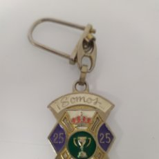 Coleccionismo deportivo: LLAVERO COPA 25 LIGA 89 -90 REAL MADRID. Lote 267413524