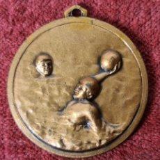 Coleccionismo deportivo: MEDALLA DE BRONCE. WATERPOLO. COLEGIO DE ARBITROS. BARCELONA. 1982.. Lote 268599624