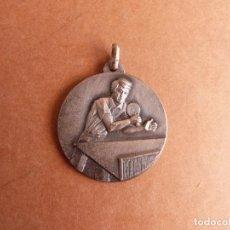 Coleccionismo deportivo: MEDALLA TROFEO EXTEBANK 1973 CAMPEONATO TENNIS TENIS DE MESA PING PONG - BANCO EXTERIOR DE ESPAÑA. Lote 268934039