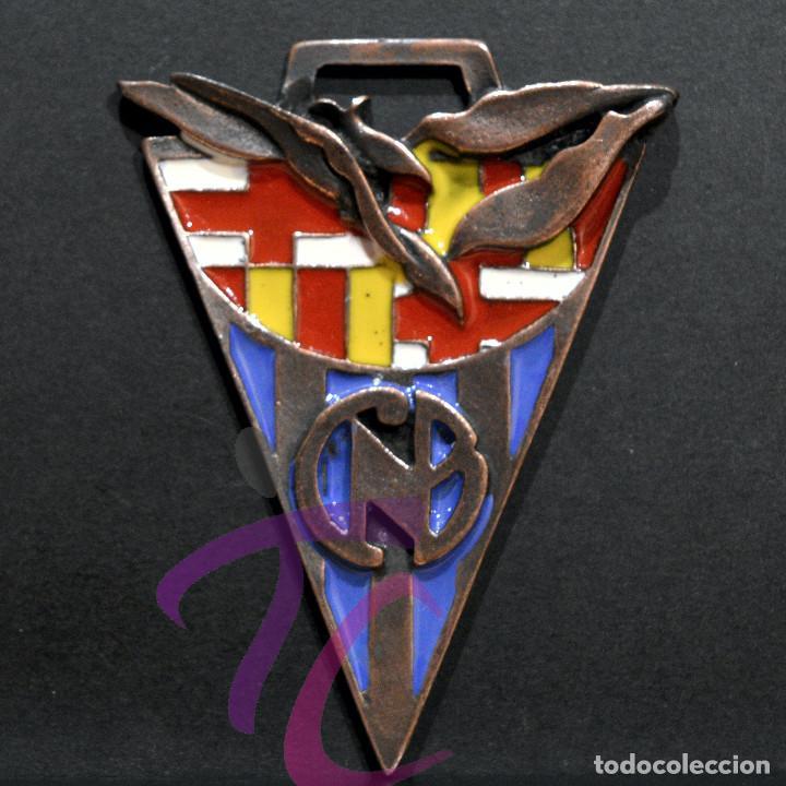 MEDALLA EN BRONCE Y ESMALTES COPA NADAL 1999 CLUB NATACIO DE BARCELONA 8X5,5CM (Coleccionismo Deportivo - Medallas, Monedas y Trofeos - Otros deportes)