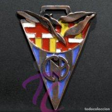 Coleccionismo deportivo: MEDALLA EN BRONCE Y ESMALTES COPA NADAL 1999 CLUB NATACIO DE BARCELONA 8X5,5CM. Lote 268945389