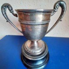 Coleccionismo deportivo: (F-210721)TROFEO DE PLATA A JUAN ANTONIO ZABALIA-GANADOR VII CAMPEONATO DEL MUNDO Y XVII EUROPA-1951. Lote 275925808