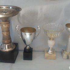 Coleccionismo deportivo: ANTIGUOS TROFEOS AÑOS 80 SIN USAR. Lote 276261098