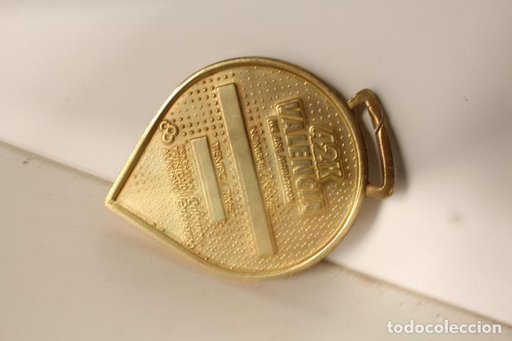 Coleccionismo deportivo: medalla placa marathon 42km. valencia - Foto 2 - 276771253