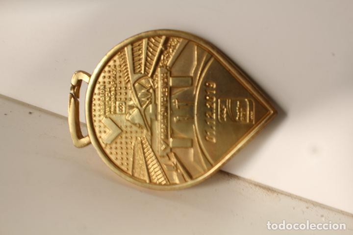 Coleccionismo deportivo: medalla placa marathon 42km. valencia - Foto 3 - 276771253