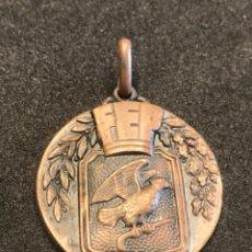 Coleccionismo deportivo: MEDALLA CAMPEONATO DE ESPAÑA HOCKEY PATINES 1960 BARCELONA. FEDERACIÓN ESPAÑOLA.. Lote 276928318