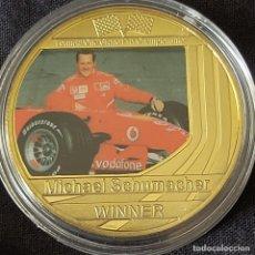Coleccionismo deportivo: MONEDA(D) DE LA COLECCIÓN DE MICHAEL SCHUMACHER. PILOTO FORMULA 1. F1.. Lote 278538163