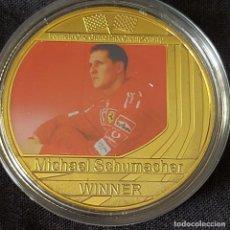 Coleccionismo deportivo: MONEDA(E) DE LA COLECCIÓN DE MICHAEL SCHUMACHER. PILOTO FORMULA 1. F1.. Lote 278538238