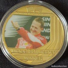 Coleccionismo deportivo: MONEDA(B) DE LA COLECCIÓN DE MICHAEL SCHUMACHER. PILOTO FORMULA 1. F1.. Lote 278538343