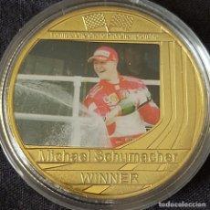 Coleccionismo deportivo: MONEDA(C) DE LA COLECCIÓN DE MICHAEL SCHUMACHER. PILOTO FORMULA 1. F1.. Lote 278538403