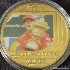 Coleccionismo deportivo: MONEDA(A) DE LA COLECCIÓN DE MICHAEL SCHUMACHER. PILOTO FORMULA 1. F1.. Lote 278538508