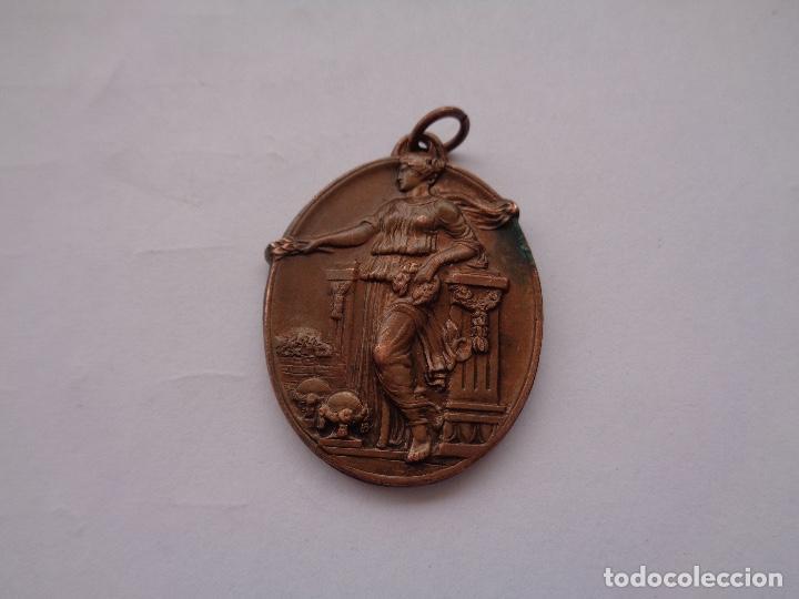 MEDALLA ESCOLAR IV ANIVERSARIO REPUBLICA 1935 (Coleccionismo Deportivo - Medallas, Monedas y Trofeos - Otros deportes)