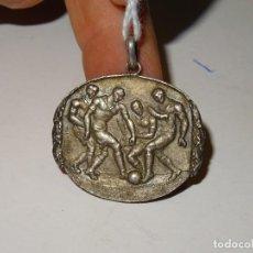 Coleccionismo deportivo: (M) MEDALLA DE PLATA FUTBOL - MB 1924 / 1925 HOMENAJE 17 MAIG 1925. Lote 279509283