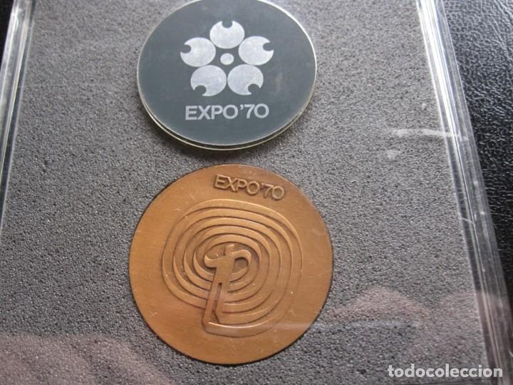 Coleccionismo deportivo: MEDALLA EXPO 70 OSAKA - JAPON. NUEVA CON ESTUCHE DE ORIGEN - Foto 2 - 283021998