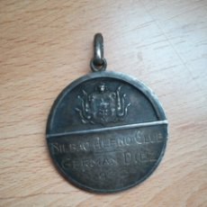 Colecionismo desportivo: BILBAO ALPINO CLUB. MEDALLA AÑO 1932.. Lote 285374093
