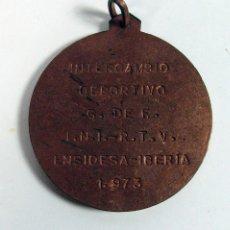 Coleccionismo deportivo: MEDALLA INTERCAMBIO DEPORTIVO ENSIDESA – IBERIA. 1973. ASTURIAS. Lote 286637333