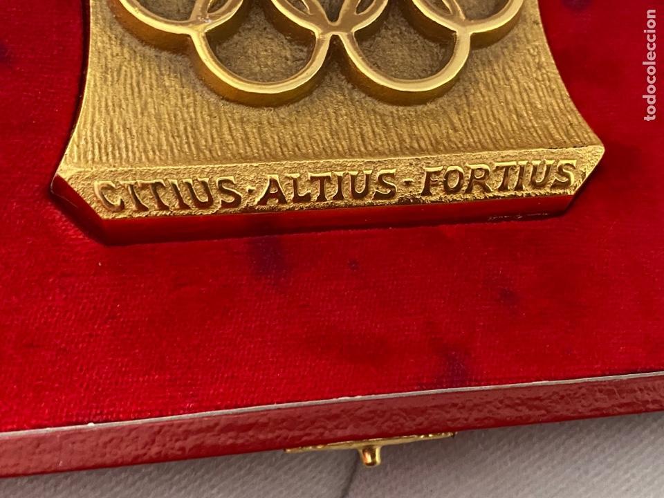 Coleccionismo deportivo: Auténtica medalla participación olímpica Citius, Altius, Fortius bretoni milano . Ver fotos - Foto 3 - 287020783